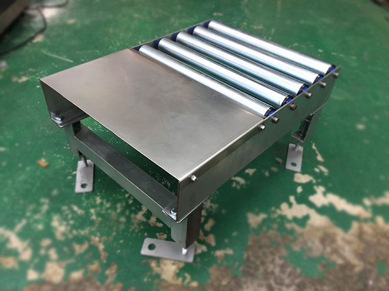 Stainless steel Free roller plate conveyor